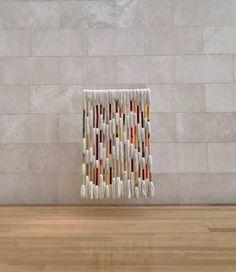 Textile Design, Textile Art, Sheila Hicks, Textiles, Weaving Techniques, Art Object, Decor Crafts, Fiber Art, Needlework