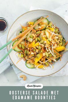 Superfood Salad, Halloumi, Edamame, Quinoa, Avocado, Mango, Tips, Salads, Manga