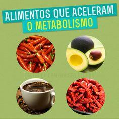 Conheça os alimentos que são aliados de seu metabolismo!