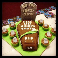 Artisan Cakes: 50th Birthday Cake
