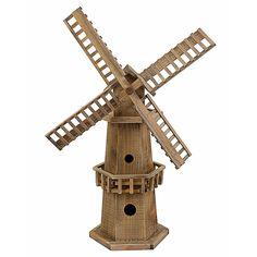 Фигура садовая Мельница деревянная 56х29х80см Q06760006