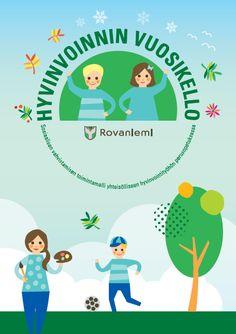 Hyvinvoinnin Vuosikello - Sosiaalisen vahvistamisen toimintamalli yhteisölliseen hyvinvointityöhön perusopetuksessa - www.innokyla.fi