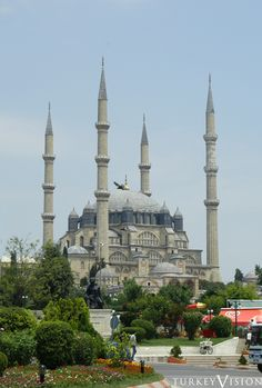 Unesco's world heritage: Selimiye Mosque and its social complex, Edirne, Turkey