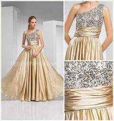 gold glitter dress gala glamor