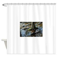 Gang Of Gators Shower Curtain