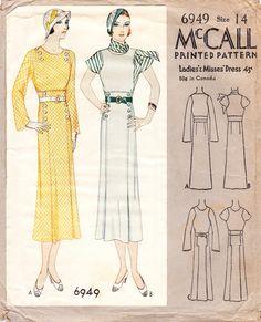 1932 day dress
