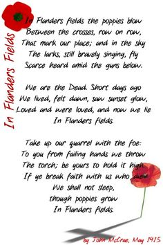 memorial day remembrance poems