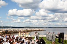 Beautiful seaside ceremonies! by Layton Reid Photography