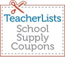 Save on big brand name essentials for back-to-school, like Mead Five Star and Hefty! Print your coupons at www.teacherlists.com/coupons #coupons #offers #backtoschool