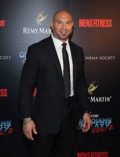 """Batista Admits To """"Starving"""" For Years After Quitting WWE For Acting - Dr Wong - Emporium of Tings. Dave Bautista, Hot Guys Eye Candy, Wwe Champions, Web Magazine, Street Look, Celebs, Celebrities, Hydrangeas, Gay Pride"""