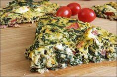 Nachgekocht Sophia Thiel - leichte Spinat-Feta-Quiche - lowcarb