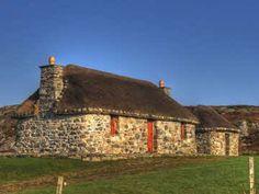 Scottish croft, Isle of Eriskay, South Uist