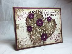 Stampin' Up! Timeless Textures and a Bloomin' Heart - YouTube