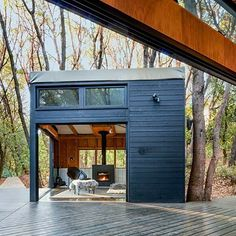 One-Room Cabins in Northern California, by architect Douglas Burnham