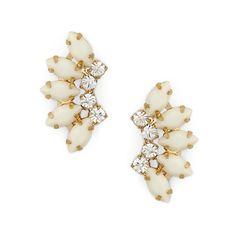 """Sole Society """"Mini Fan Earrings"""", $29.95"""