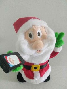 8bfb37aca6843 RARE ANIMATED SANTA BY GEMMY INDUSTRIES. TAKES 3 AA BATTERIES-INCLUDED-NOT  SURE