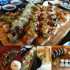 Happy early mothers day! #aburi #oshi #sushi #miso #saba #tempura #tuna #tataki #yummy #foodporn #foodie #vancouver #604 by lionpappa