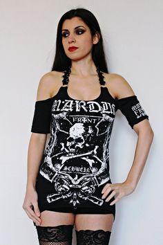 Marduk shirt black metal clothing tunic top alternative apparel reconstructed altered band tee t shirt rocker clothes dark style satanic