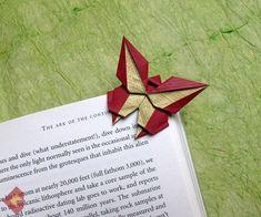 El arte del Origami: Marcador de pagina: Mariposa