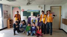 District 300F #LionsClubs (Taiwan) donated supplies to a community youth organization