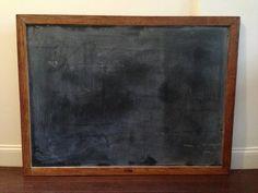 Vintage Blackboard Chalkboard