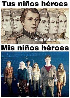 "Para mi son ambos :""3 Harry Potter Tumblr, Harry Potter Hermione, La Saga Harry Potter, Albus Severus Potter, Always Harry Potter, Harry Potter Jokes, Hogwarts, Margarita, Harry Potter Collection"