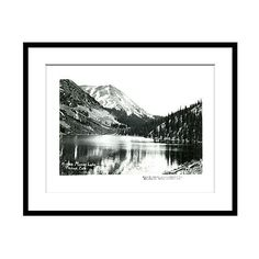 Mirror Lake Tincup Colorado Photographs ($185) ❤ liked on Polyvore