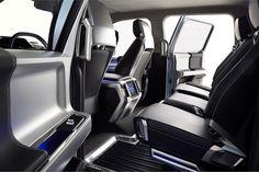 The seat design provides extra legroom and storage for rear-seat passengers, according to Ford. - Automotive Fleet Magazine - www.automotive-fleet.com #fleet