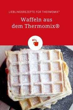 Fresh waffles with creme fraiche - Thermomix Rezepte - Pancakes Pancake Healthy, Best Pancake Recipe, Healthy Cookie Recipes, Easy Cake Recipes, Fresco, Crema Fresca, Muffins, Thermomix Desserts, Chocolate Chip Recipes