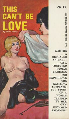 """The cover artwork for the lesbian-themed novel """"This Can't Be Love"""""""