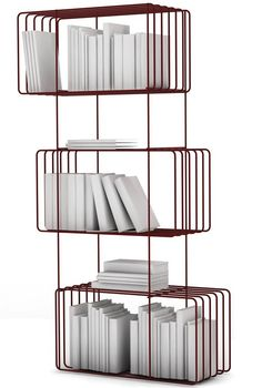 Buy Metal Bookshelves Online | Metal Bookshelves Prices | 212Concept