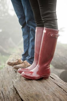 I am in need of some rubber boots for when I go out with the dog (in a storm).