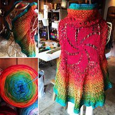 Aus einem Cotton-Bobbel WoolyHugs gehäkelt...es muss ja schließlich nicht immer ein Tuch sein! Lily Pulitzer, Dresses, Fashion, Moda, Vestidos, Fashion Styles, Dress, Dressers, Fashion Illustrations