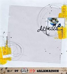 sketch / inspi de la semaine dernière [DT la Fabrik à Scap] - scrap à 6alamaison