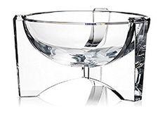 Rogaska Avant Garde Bowl  #DecorativeBowls #Rogaska #RogaskaAvantGardeBowl House Prices, Buy Now, Decorative Bowls, Crystals, Stuff To Buy