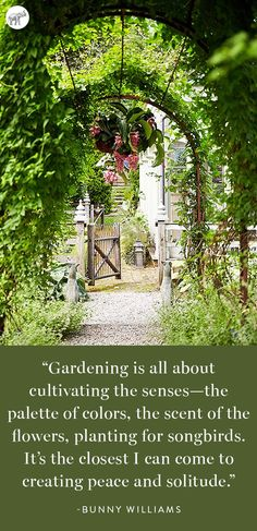We couldn't have said it better ourselves! Take a virtual tour of design legend—and avid gardener—Bunny Williams' beautiful Connecticut estate garden, right here on the One Kings Lane Style Guide!