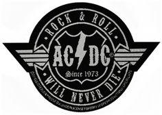 Patch AC/DC - Will Never Die - Patchs - www.rockagogo.com