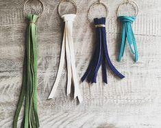 Leather Fringe Tassel Earrings