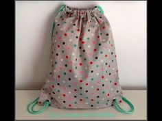Sac à Dos de Piscine - Tuto couture ValMa - YouTube