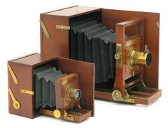 Antique Cameras: Blair Lucidograph, 1884-90
