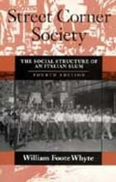 Vår pris Street Corner Society is one of a handful of works that can justifiably be called classics of sociological research. Sociological Research, My Books, It Works, Corner, Street, My Love, My Boo, Roads
