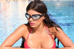 Be sexy while swimming with the Swiminent Viper Goggles!