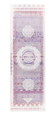 No-slip Towel Mat for HOT YOGA! Printed Yoga Mats By La Vie Boheme Yoga