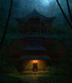 Spirited Away By Caffe Tylo