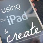 using iPad apps to create #IPADED
