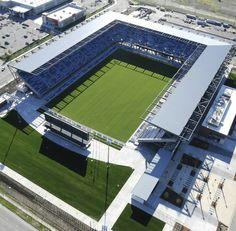 Avaya Stadium, home of the San Jose Eathquakes.