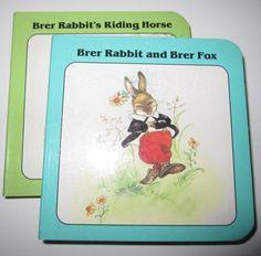 Brer Rabbit Books by BridgetBlue on Etsy, $4.95