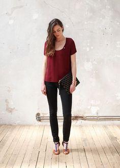 Sézane / Morgane Sézalory - Jackson blouse - Collection spring 2014 - www.sezane.com