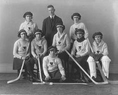 1921- Girl's High School Hockey Team