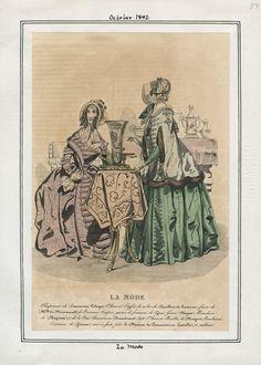 La Mode October 1842 LAPL